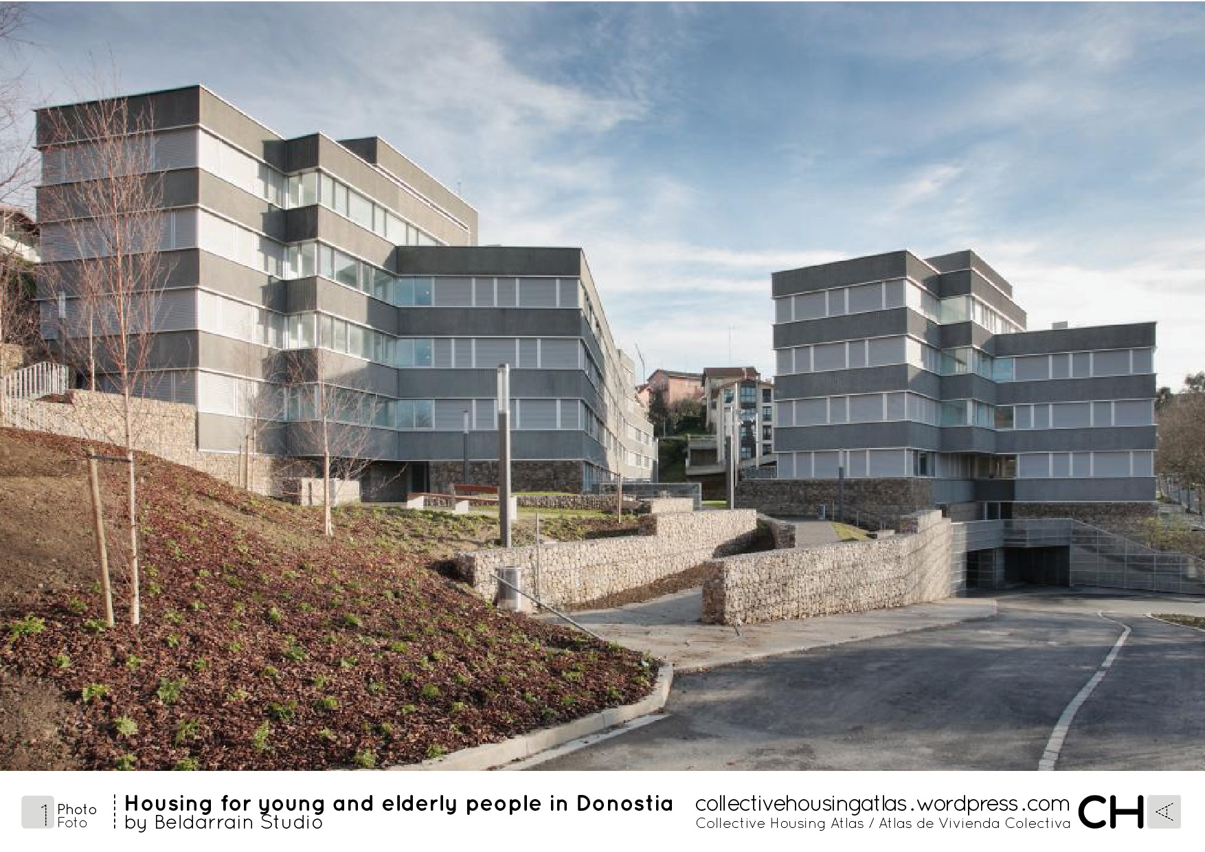 Housing for young and elderly people in donostia by for Home for handicapped