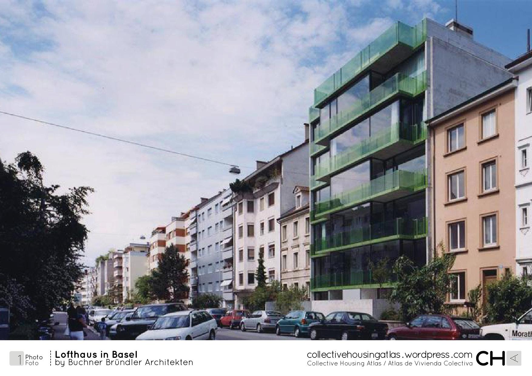 Cha 131108 lofthaus in basel buchner br ndler architekten - Architekten basel ...