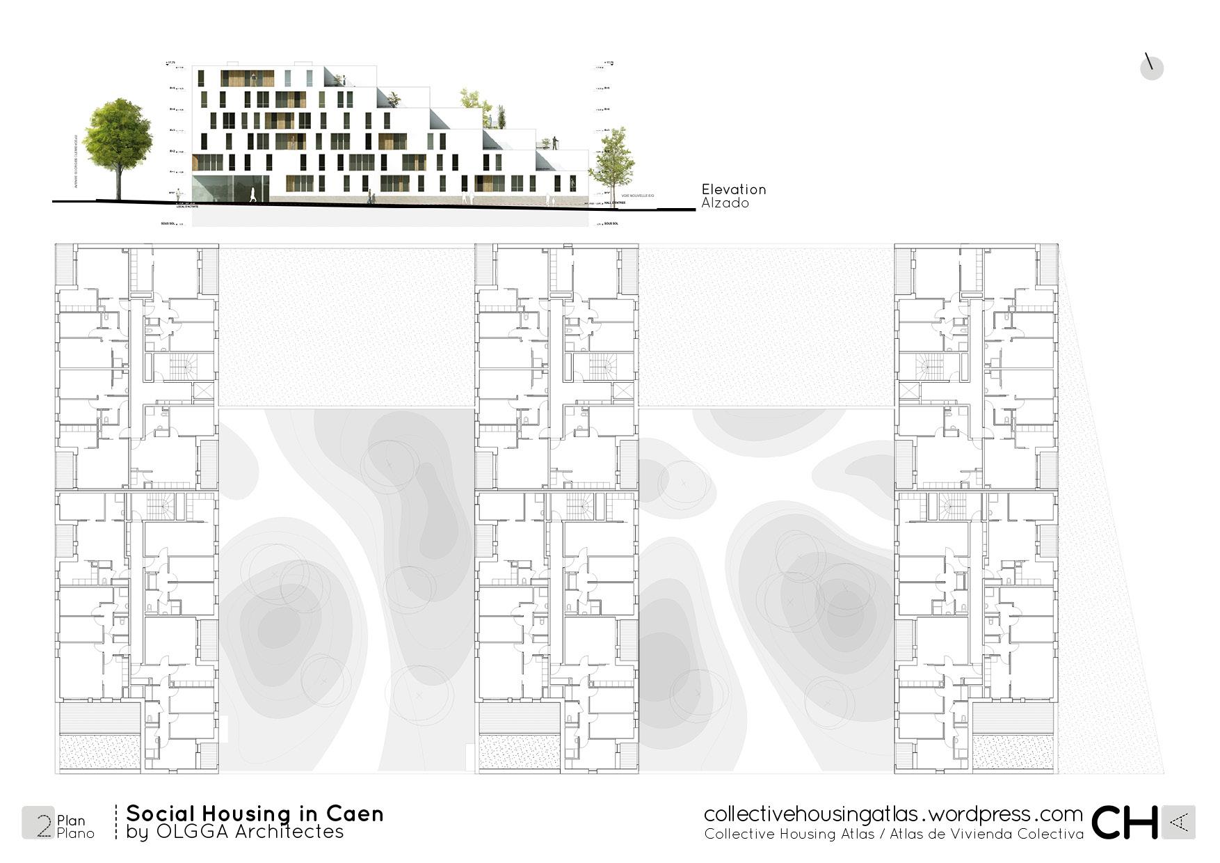Social Housing In Caen By Olgga Architectes Collective